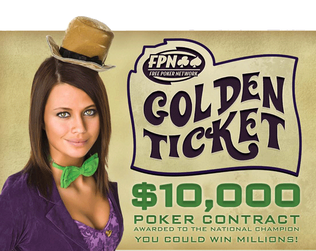 Golden Ticket FPN Poker Pro 2 Promotion details