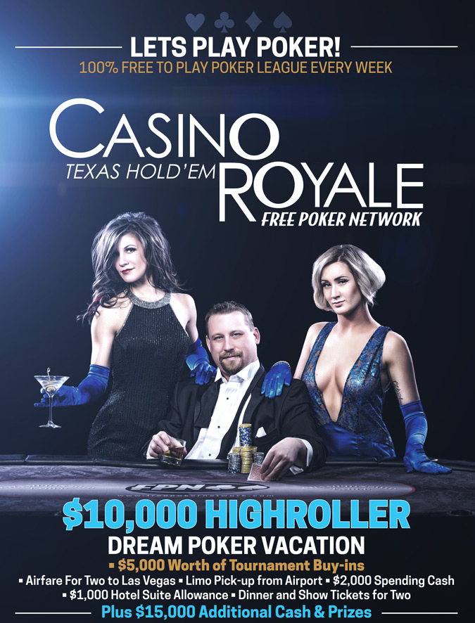 FPN's Casino Royale $10,000 Highroller promotion will provide the poker vacation of your dreams!