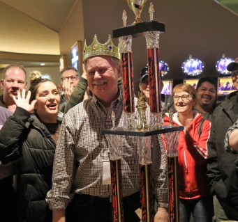 Bob Tweten Crowned Cash King